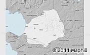 Gray Map of Laholm Kommun