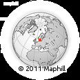 Outline Map of Laholm Kommun