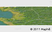 Satellite Panoramic Map of Laholm Kommun