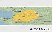 Savanna Style Panoramic Map of Laholm Kommun