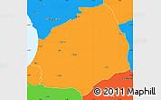 Political Simple Map of Laholm Kommun