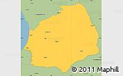 Savanna Style Simple Map of Laholm Kommun