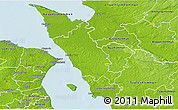 Physical 3D Map of Helsingborg Kommun