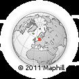 Outline Map of Lomma Kommun