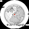 Outline Map of Malmö Kommun
