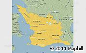 Savanna Style Map of Malmöhus Län