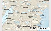 Shaded Relief 3D Map of Östergötlands Län