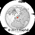 Outline Map of Kinda Kommun
