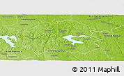 Physical Panoramic Map of Kinda Kommun
