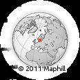 Outline Map of Mjölby Kommun