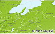 Physical 3D Map of Grästorp Kommun