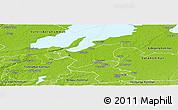 Physical Panoramic Map of Grästorp Kommun