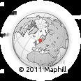 Outline Map of Kil Kommun
