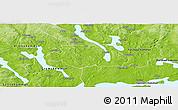 Physical Panoramic Map of Kil Kommun