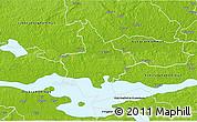 Physical 3D Map of Arboga Kommun