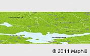 Physical Panoramic Map of Arboga Kommun