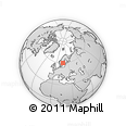 Outline Map of Sala Kommun