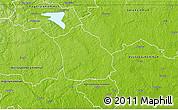 Physical 3D Map of Surahammar Kommun