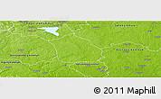 Physical Panoramic Map of Surahammar Kommun