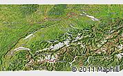 Satellite 3D Map of Switzerland