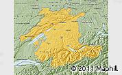 Savanna Style Map of Espace Mittelland