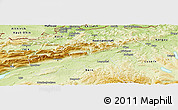 Physical Panoramic Map of Solothurn
