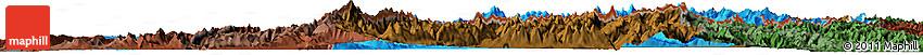 Political Shades Horizon Map of Genferseeregion, darken