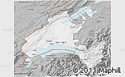 Gray 3D Map of Vaud