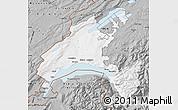 Gray Map of Vaud