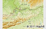 Physical Map of Basel-Landschaft