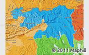 Political Shades Map of Nordwestschweiz