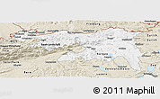 Classic Style Panoramic Map of Nordwestschweiz