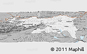 Gray Panoramic Map of Nordwestschweiz