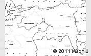 Blank Simple Map of Nordwestschweiz