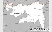 Gray Simple Map of Nordwestschweiz