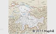 Classic Style 3D Map of Ostschweiz