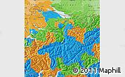 Political Map of Ostschweiz