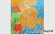 Political Shades Map of Ostschweiz
