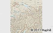 Shaded Relief Map of Ostschweiz