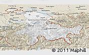 Classic Style Panoramic Map of Ostschweiz