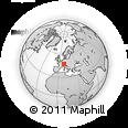 Outline Map of Schaffhausen