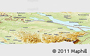 Physical Panoramic Map of Thurgau