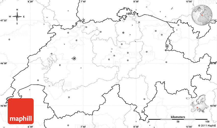 Image Result For Switzerland Flag Map