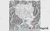 Gray 3D Map of Tessin