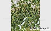Satellite Map of Tessin