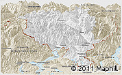 Classic Style Panoramic Map of Tessin