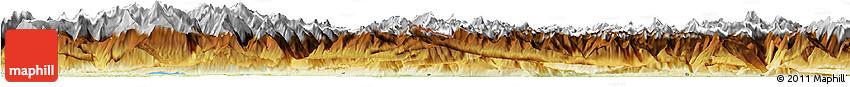 Physical Horizon Map of Zentralschweiz