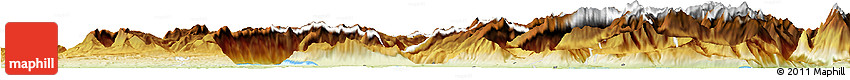 Physical Horizon Map of Luzern