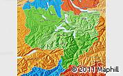 Political Shades Map of Zentralschweiz
