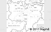 Blank Simple Map of Zentralschweiz